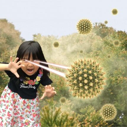 花粉 め~!!!