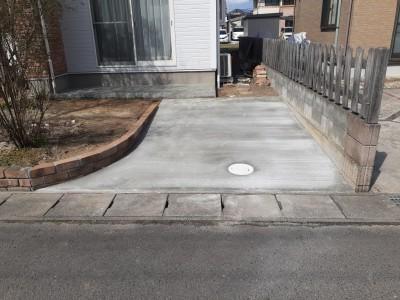 駐車場増設アフター