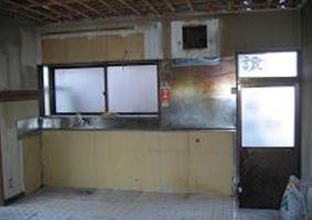 ①キッチン施工前