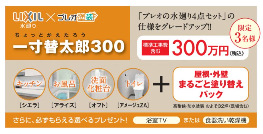 一寸替太郎300