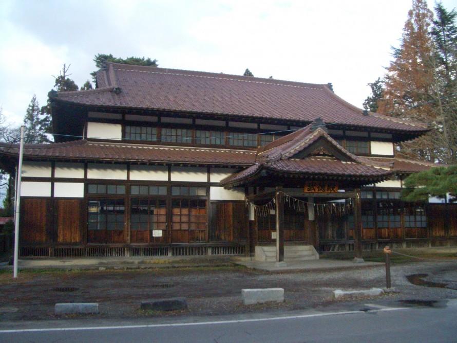 鶴ヶ城武徳殿