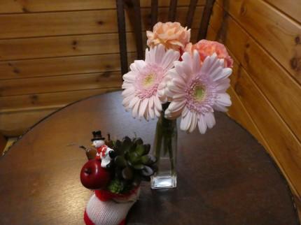 トイレのお花