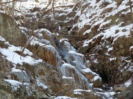 凍ってる!!