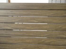 フェンス密横板貼デザイン