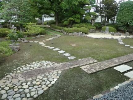 川越城 庭