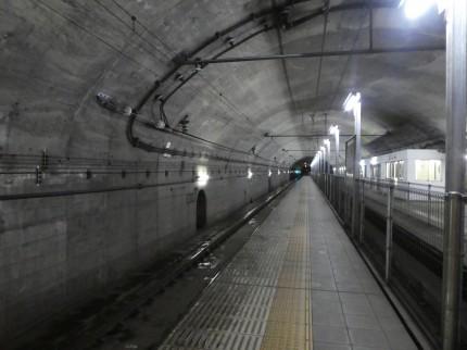 土合駅ホーム