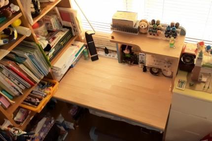 DIYで学習机